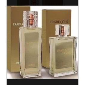 Kit 2 Perfumes Traduções Gold Feminino E Masculino Hinode