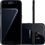 Smartphone Samsung Galaxy S7 Edge Black Piano 128gb Tela De