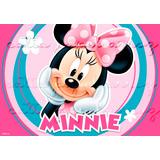 Minnie Rosa Papel De Arroz A4 20 X 30 Cm Bolo
