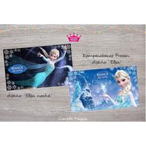 Frozen Rompecabezas Personalizados Souvenirs Cumpleaños X10u