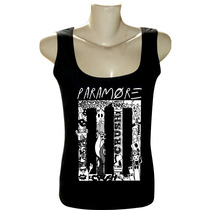 Camiseta Blusa Regata Feminina Rock Bandas Paramore Para89