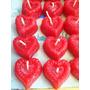Velas Para Recuerdos Corazones Dia Del Amor