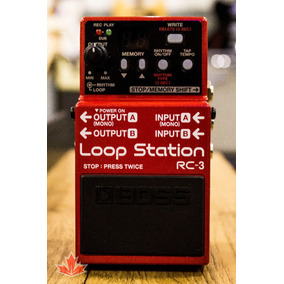 Pedal Boss Loop Station Rc3 + Brindes