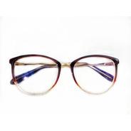 Oculos De Grau Feminino Armação Acetato Geek Vintage Barato