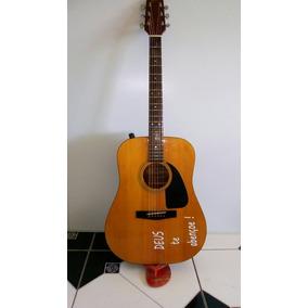 Violao Fender G-ii E Com Capa/ Sax Lumini Com Capa Original