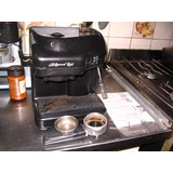 Cafetera Expresso Ariete Cremissimo Hollywood Negra Manual