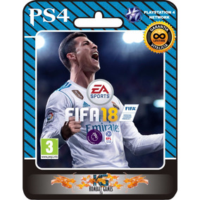 Fifa 18 - Ps4 - Portugues ( Primaria| Digital)