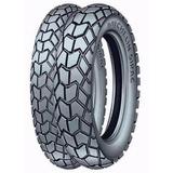 Kit Cubiertas Michelin 130 80 17 + 90 90 21 Sirac Fas Motos