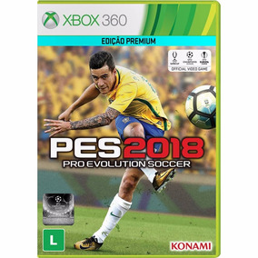Pes 2018 Xbox 360 Mídia Física Original Lacrado Pt/br