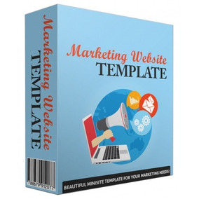 Blog, Template De Website Marketing V43