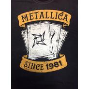 Metallica - Camisa Since 1981 Produto Oficial