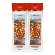 2 Shampoo Alecrim Anticaspa Seborreia 350 Ml Crescenew
