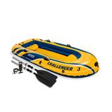 Bote Inflável Intex Challenger 3 Para 3 Pessoas - Lacrado
