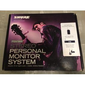 Shure Psm300 Sistema De Monitoreo Inalámbrico In Ear