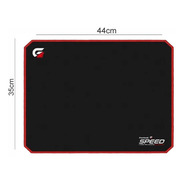 Mouse Pad Speed Pro Gamer Fortrek Mpg102 Vermelho (440x350)
