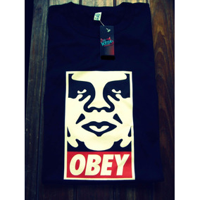 Remera Obey Banksy Punk Estampadas Tattoo Mujer