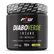 Diabo Verde Insano Pre-workout 150g Sabores - Ftw