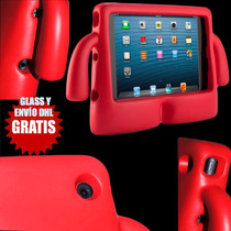 Kit Infantil Para Ipad Mini, Funda Estuche + Glass + Dhl