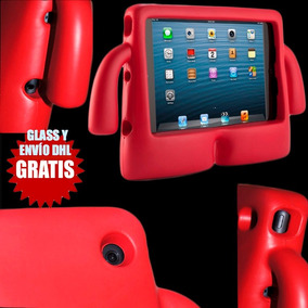 Kit Infantil Para Ipad Mini, Funda Estuche + Glass + Dhl