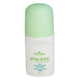 Kit 03 Erva Doce Desodorante Roll-on Perfume 80ml - 1135