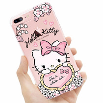 Funda Hello Kitty White Case Protector Tpu Iphone 5 5s Se