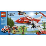 Lego City 4209 Avion De Bomberos Nuevo