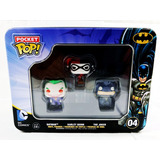 Funko Pop Harley Quinn Batman Joker Pocket Nuevo Original