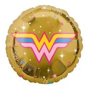 4 Globos Mujer Maravilla Met 18 Fiesta Superheroes Wonder Wo