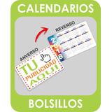 100 Calendarios Almanaques De Bolsillo Personalizados