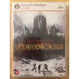 Jogo Pc Dvd - O Senhor Dos Anéis Guerra No Norte (2011)