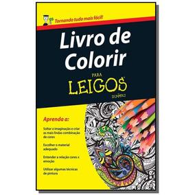 Livro De Colorir Para Leigos