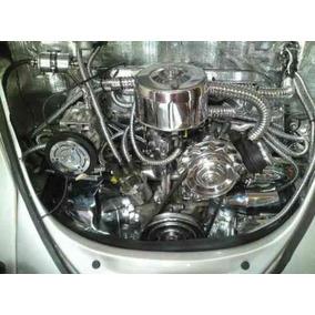 Kit De Acessórios E Parafusos Cromados P/ Motor Do Vw Fusca