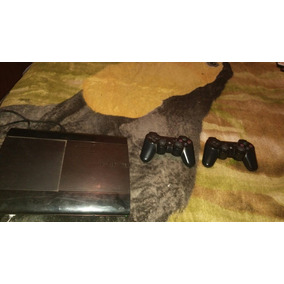 Vendo Ps3 Super Slim +500 Gb Dos Joystick Y 9 Juegos