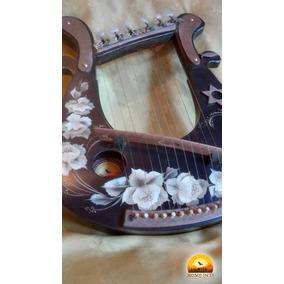 Lira Arpa Instrumento Cuerdas Mosoj Inti Luthier Del Bosque
