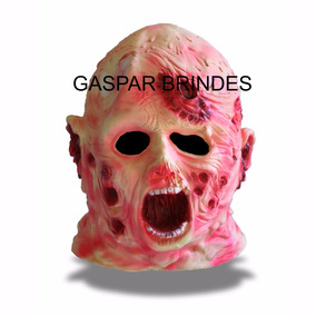Máscara Freddy Krueger Mumia - Haloween - Terror Carnaval