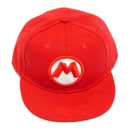 Super Mario Bros Gorra Bordada 3d Nintendo Broche Ajustable