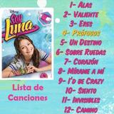 Música Soy Luna La Vida Es Un Sueño-49 Canciones +24 Videos.