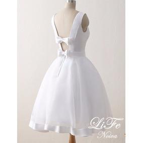 Vestido Curto Noiva Casamento Civil Festa Pronta Entrega 92f