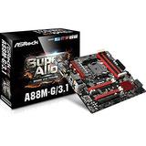 Asrock Motherboard Micro Atx Ddr3 2400 Na A88m-g/3.1