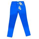 Calca Skinny Jeans Feminina Azul Sarja Marca Love Etc Oferta