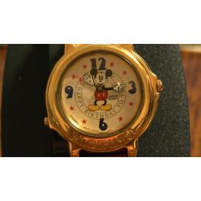 Lorus Mickey Mouse Reloj Musical Feliz Cumpleaños Por Lorus