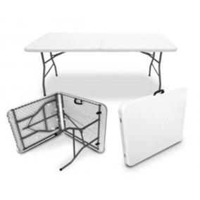 Mesas y tablones plegables portafolio en mercado libre m xico for Mesa plegable maleta