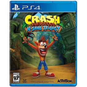 Crash Bandicoot N. Sane Trilogy Juego Ps4 Playstation Stock