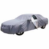 Cubre Auto Apertura Lateral Porta Espej Afelpado Impermeable