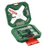 Kit De Brocas E Acessórios Bosch X-line 34pçs