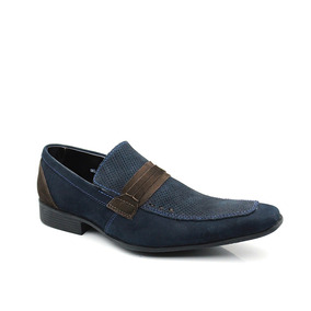 Sapato Social Masculino Keep Shoes - Azul Marinho - 359