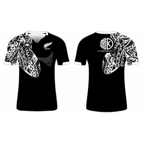 Camiseta De Rugby All Blacks Maori
