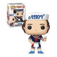 Funko Pop Stranger Things 3 Steve With Hat And Ice Cream 803