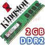 Memoria Ddr2 Kingston 2gb Kvr800/2g En Blister Centro Pais
