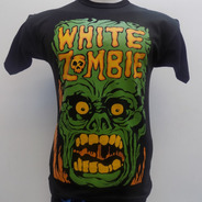 Remera De White Zombie Rockería Que Sea Rock Villa Ballester